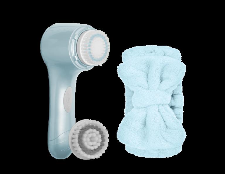 FACIAL CLEANSING SET_Makeup Brush Mat-blue