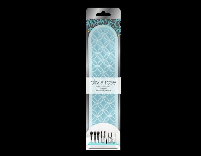 MAKEUP BRUSH ORGANIZER_Makeup Brush Mat-blue