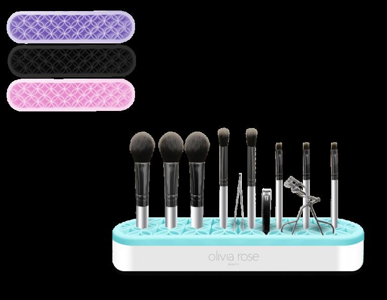 MAKEUP BRUSH ORGANIZER_Makeup Brush Mat-blue copy