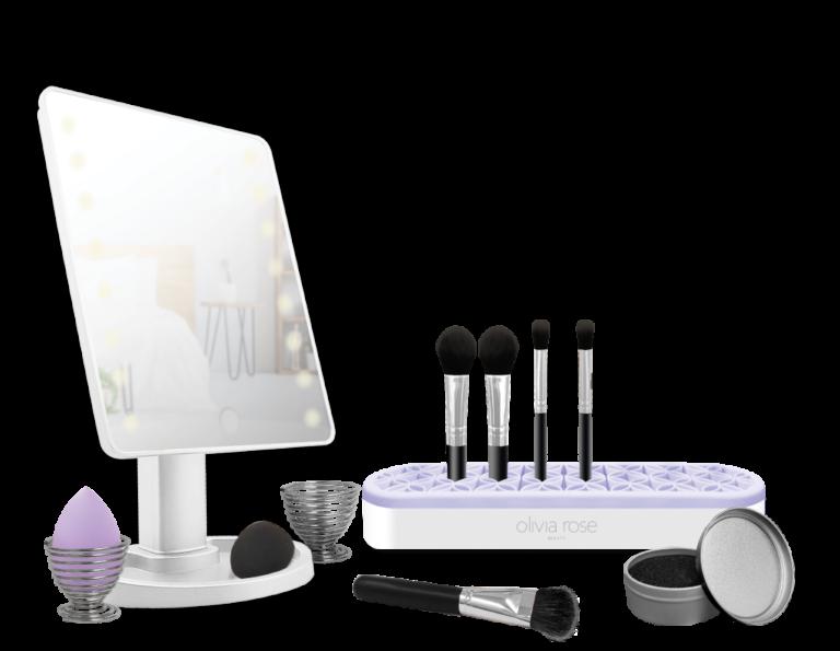 MAKEUPCOUNTER COLLECTION_Makeup Brush Mat-blue